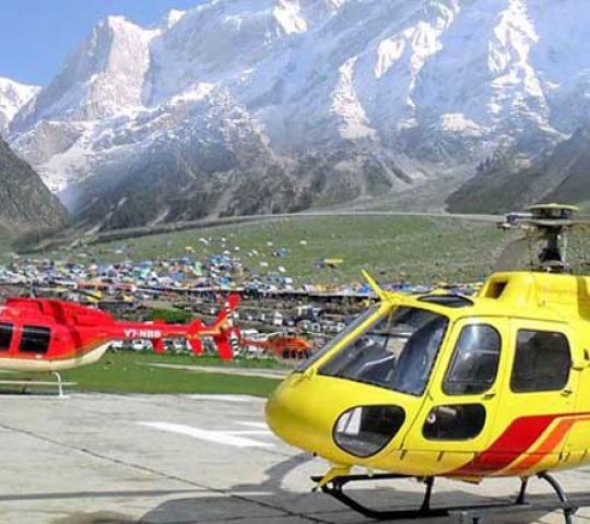 Kedarnath Badrinath By Helicopter